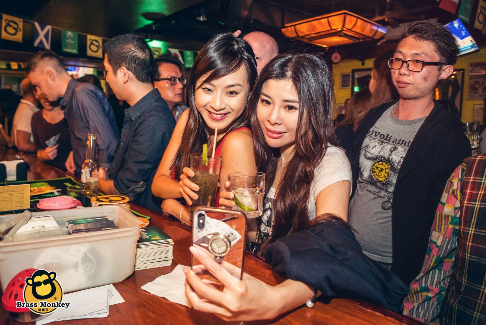 Ladies Night at The Brass Monkey Taipei